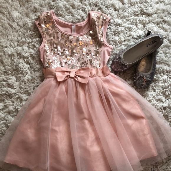 Cherokee Dresses | Girls Pink Party Dress Size 6 | Poshmark
